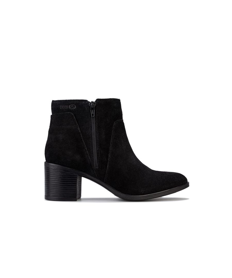 Image for Women's Geox New Asheel Ankle Boots in Black