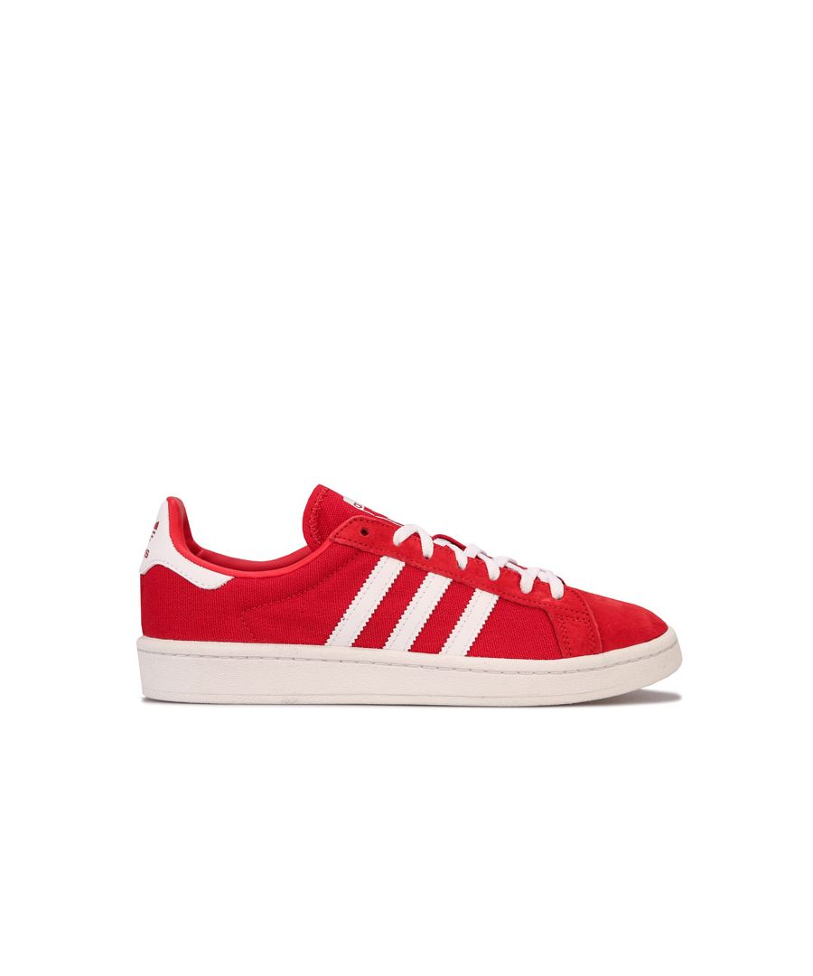 Image for Women's adidas Originals Campus Trainers in red white