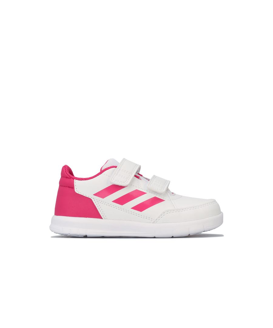 Image for Girl's adidas Infant AltaSport Trainers in White
