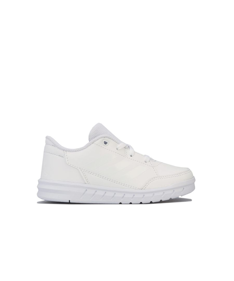 Image for Boy's adidas Childrens AltaSport Trainers in White