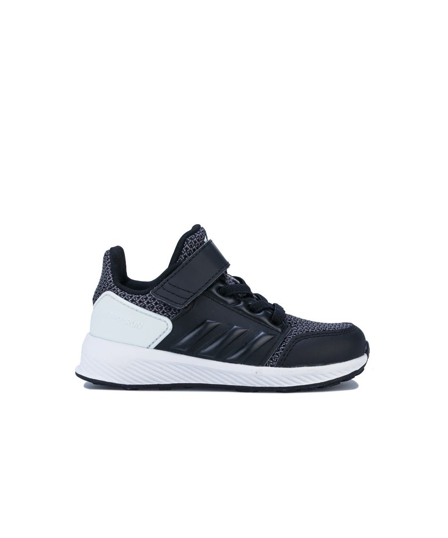 Image for Boy's adidas Infant Rapidrun Trainers in Black