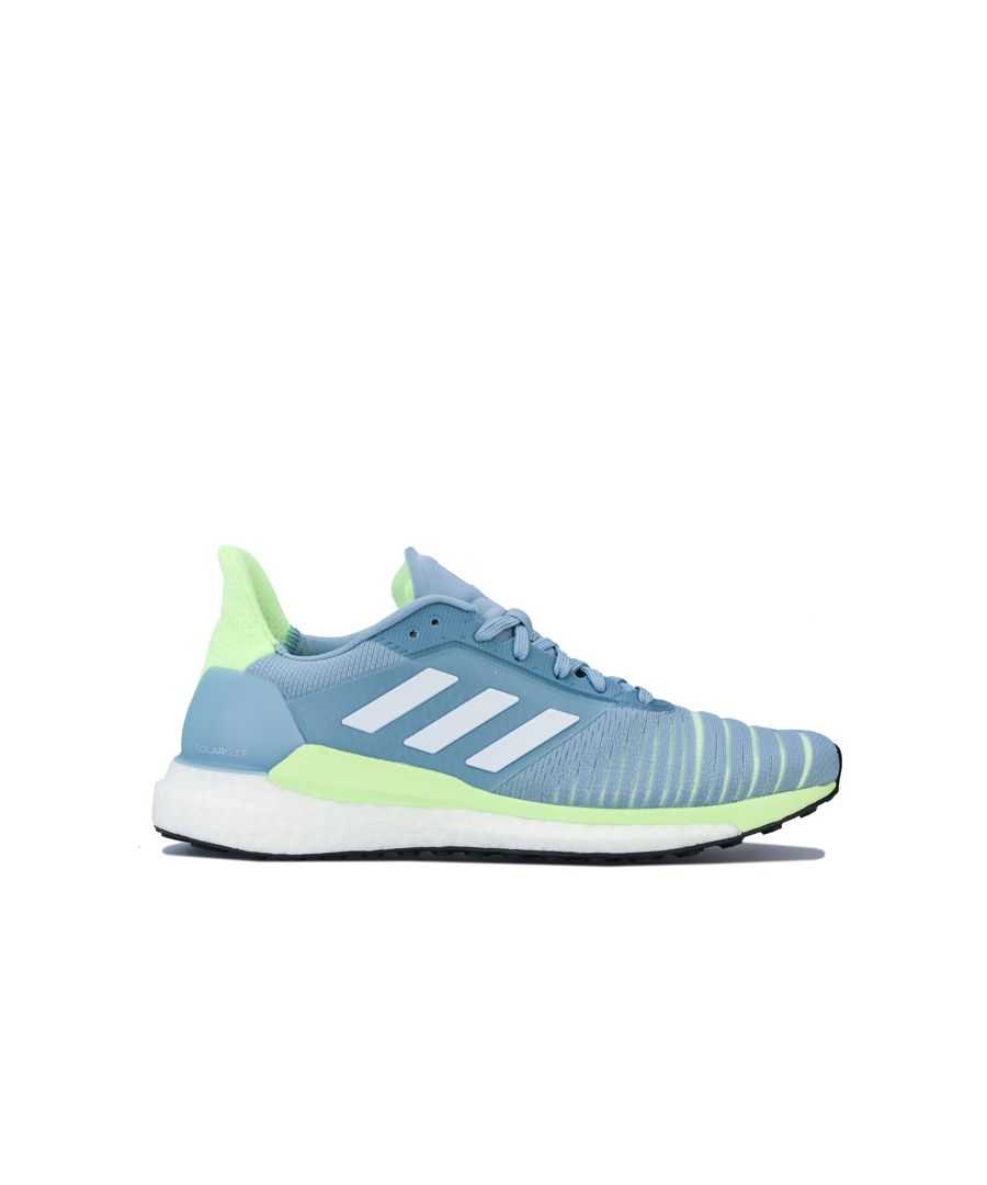 Image for Women's adidas Solar Glide Running Shoes in Grey blue