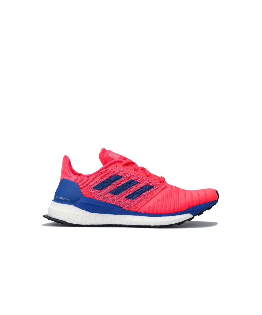 Image for Women's adidas Solar Boost Running Shoes in Red