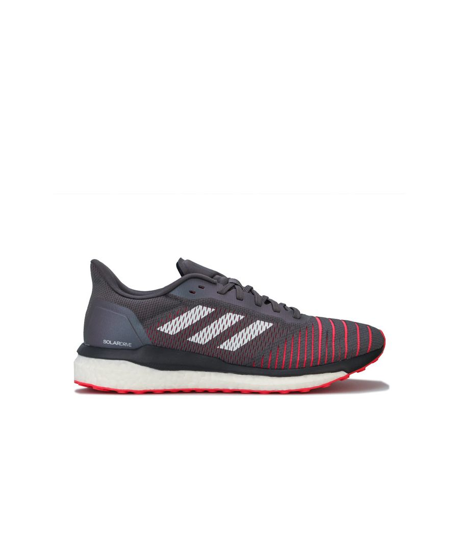 Image for Men's adidas Solar Drive Running Shoes in Grey