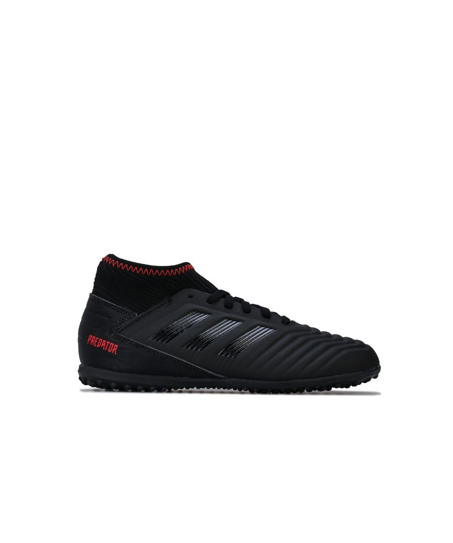 Image for Boy's adidas Children Predator 19.3 Astro Turf Trainers in Black