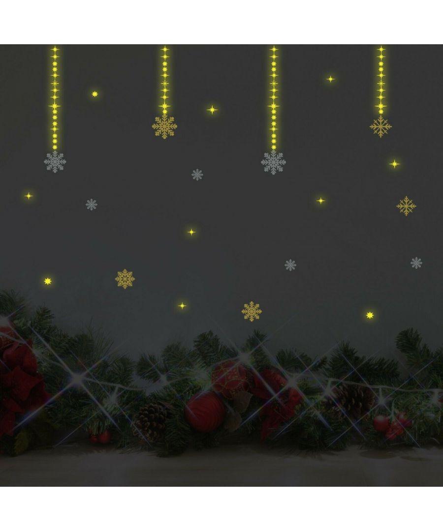 Image for COM- WS3036 - Moon & Stars Glow + WS3323 - Santa's Sleigh