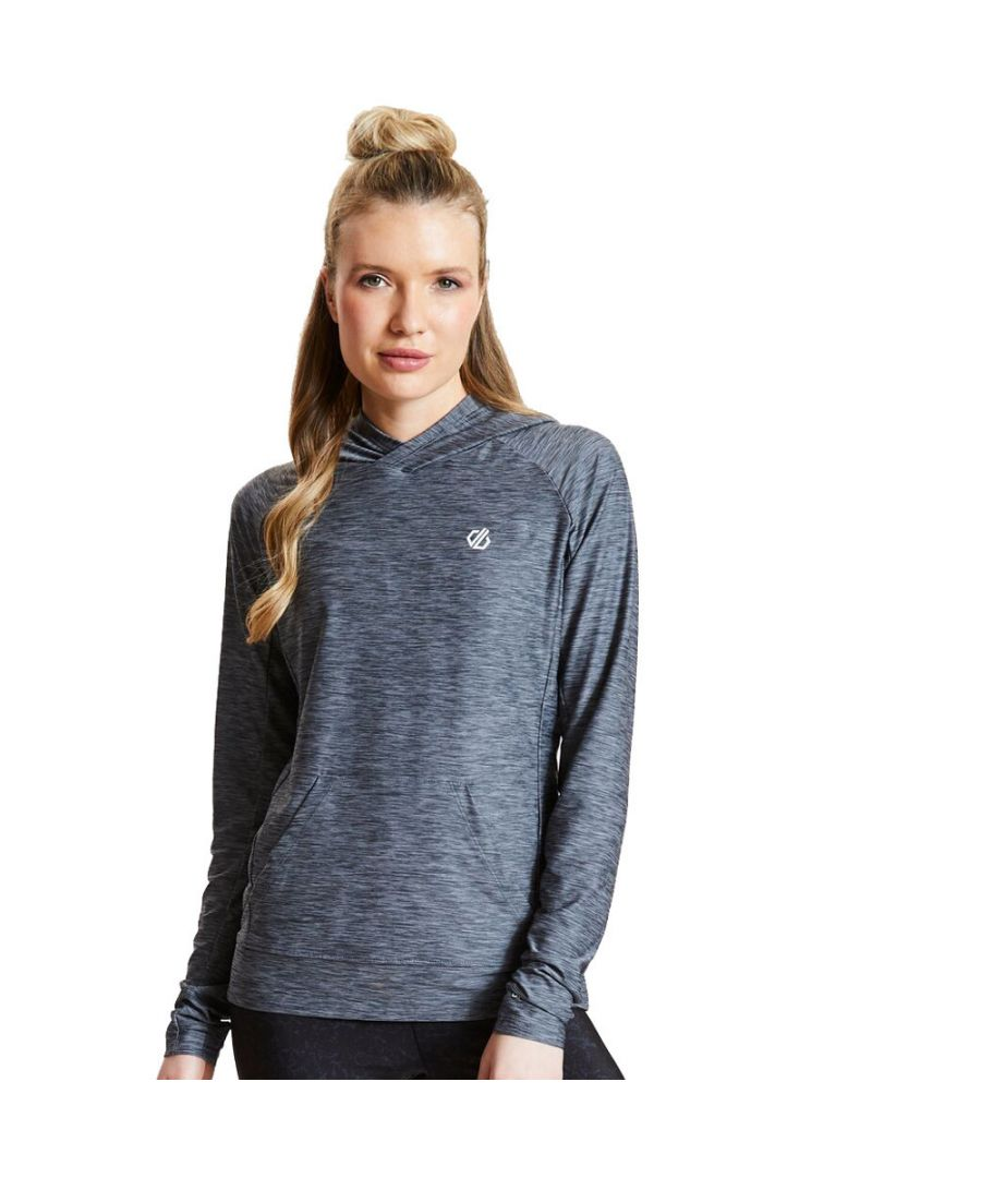 Image for Dare 2B Womens Sprint Cty Long Sleeve Hooded Jersey Top