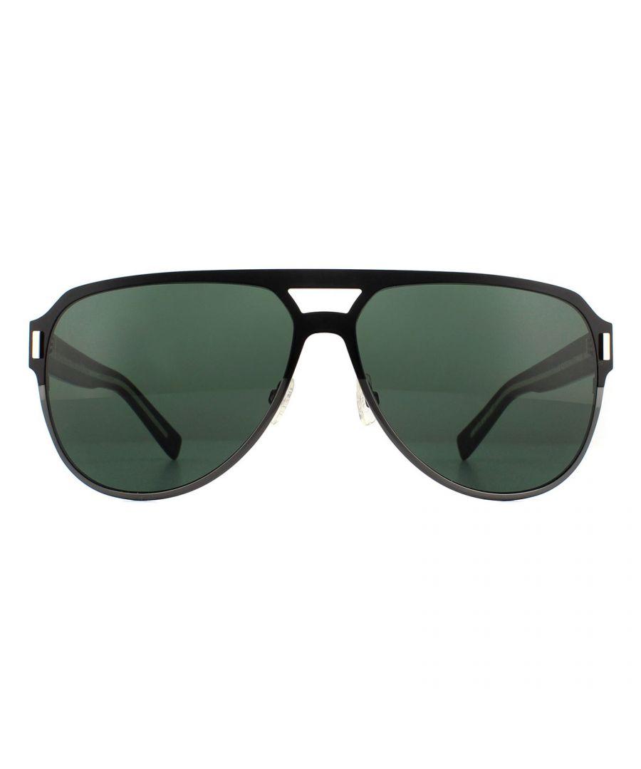 Image for Dior Sunglasses BlackTie 2.0 S D AY8 F2 Black Ruthenium Dark Green
