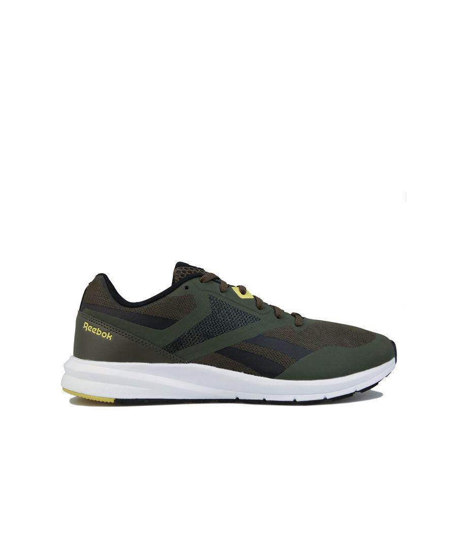 Image for Men's Reebok Runner 4.0 Running Shoes in Green black