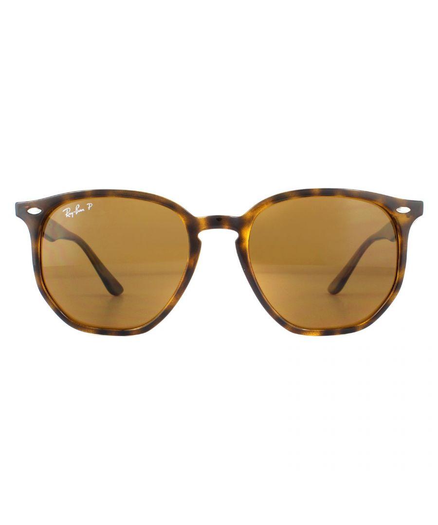 Image for Ray-Ban Sunglasses RB4306 710/83 Light Havana  Brown