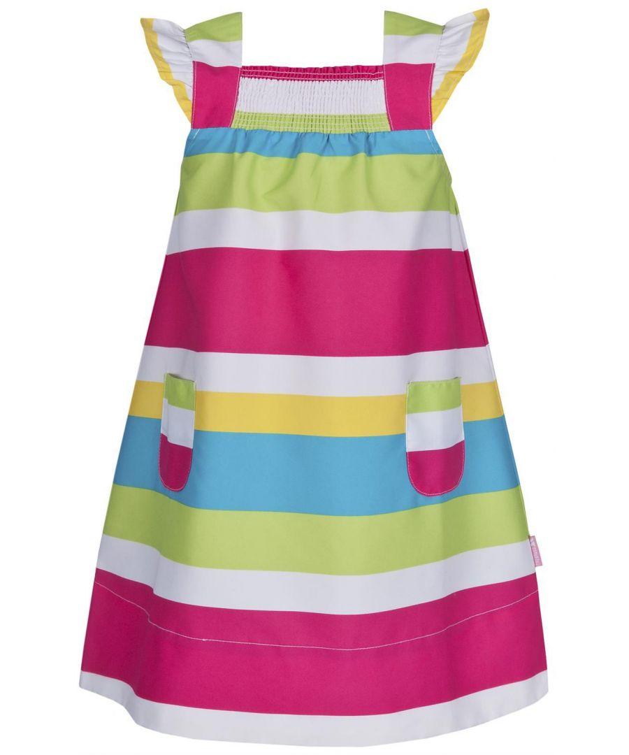 Image for Trespass Lilyann Striped Dress