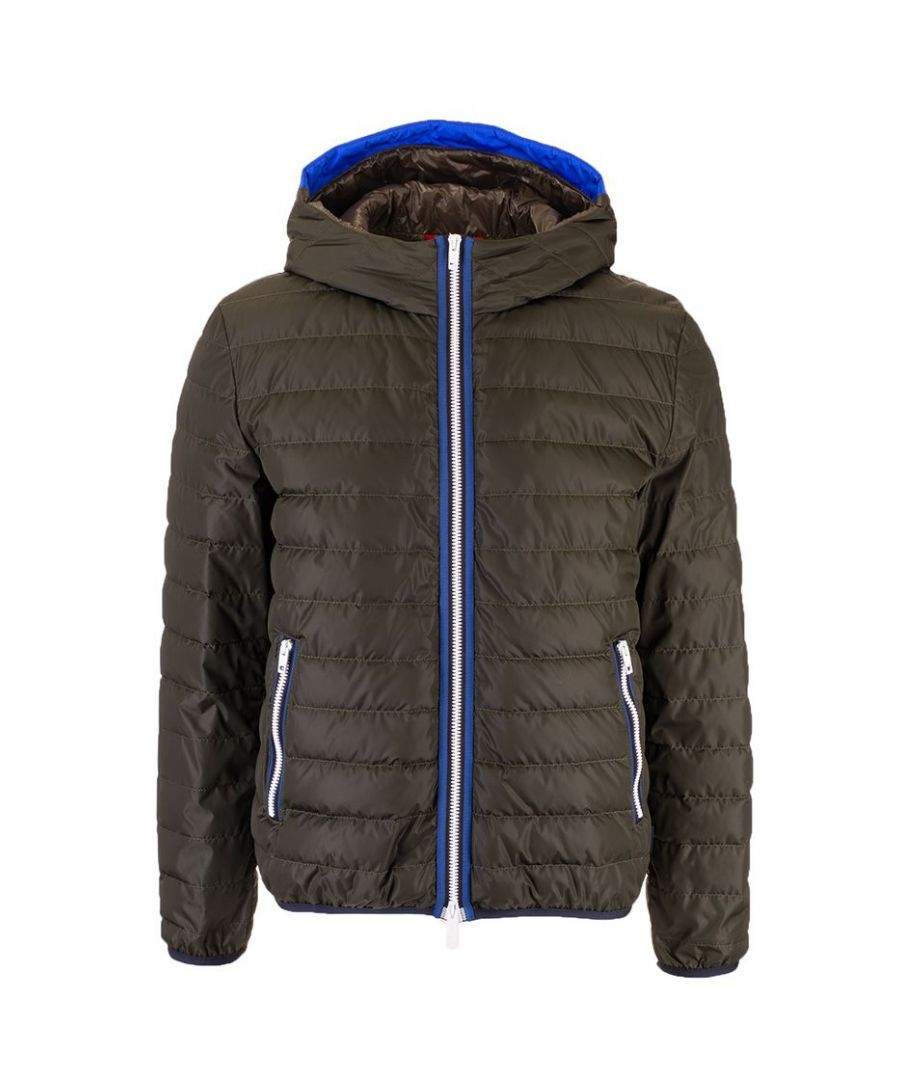 Image for FAY MEN'S NAM32400280PFW0C35 GREY POLYAMIDE DOWN JACKET