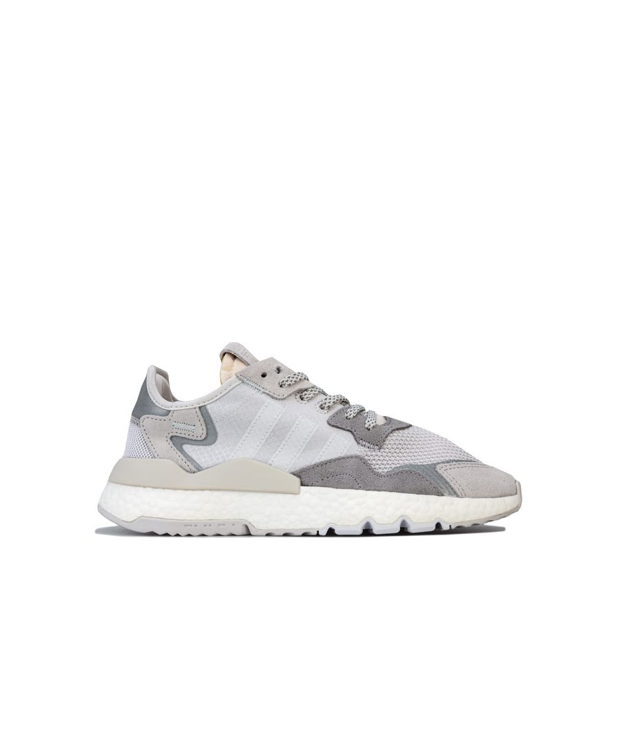 Image for Women's adidas Originals Nite Jogger Trainers in Light Grey