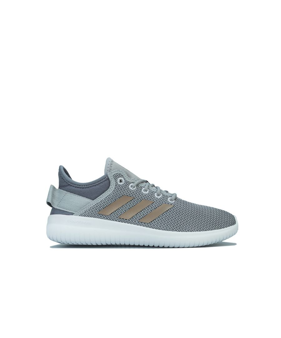 Image for Women's adidas Cloudfoam QT Flex Trainers in Grey