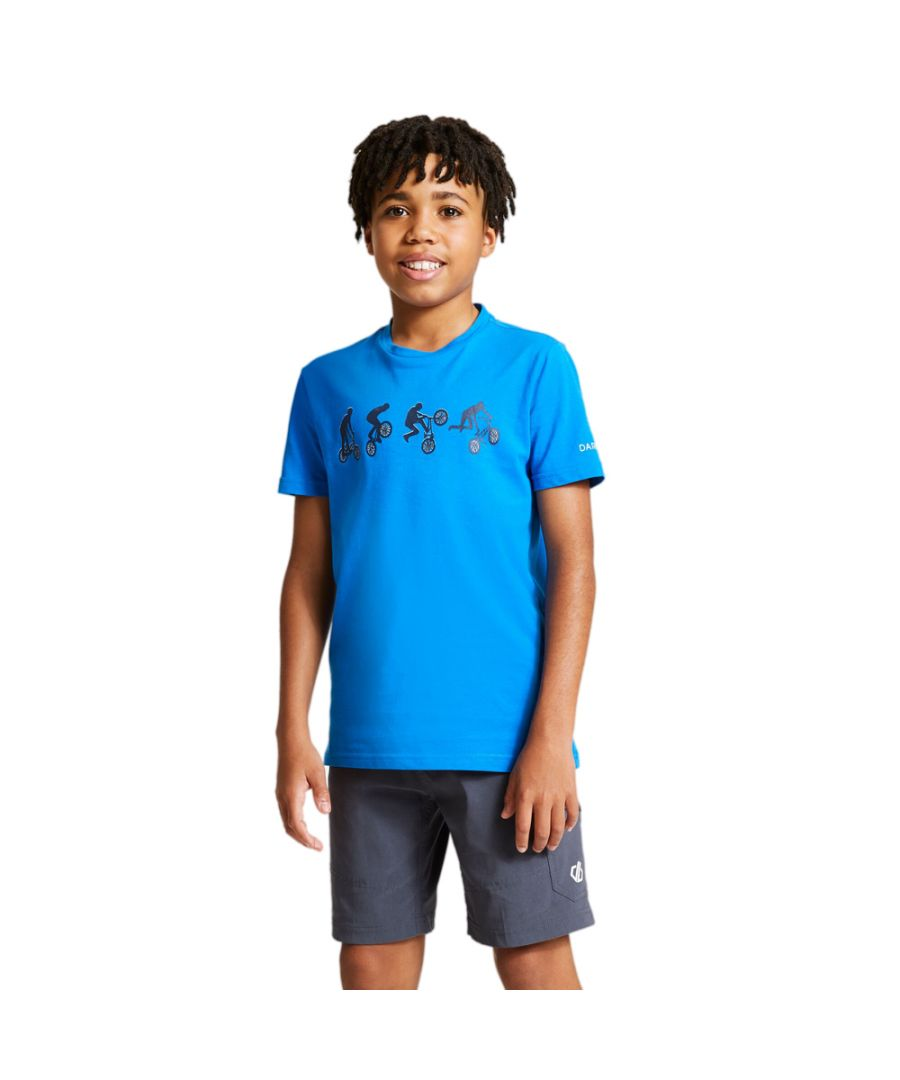 Image for Dare 2b Boys Go Beyond Cotton Casual Graphic T Shirt