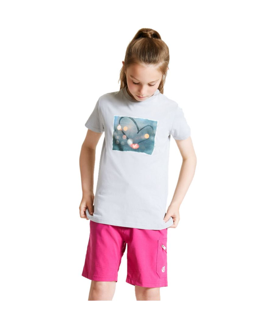 Image for Dare 2b Girls Go Beyond Cotton Casual Graphic T Shirt