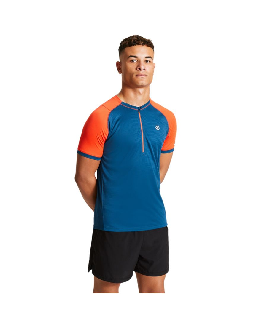 Image for Dare 2b Mens Aces Quick Drying Lightweight Cycling Jersey