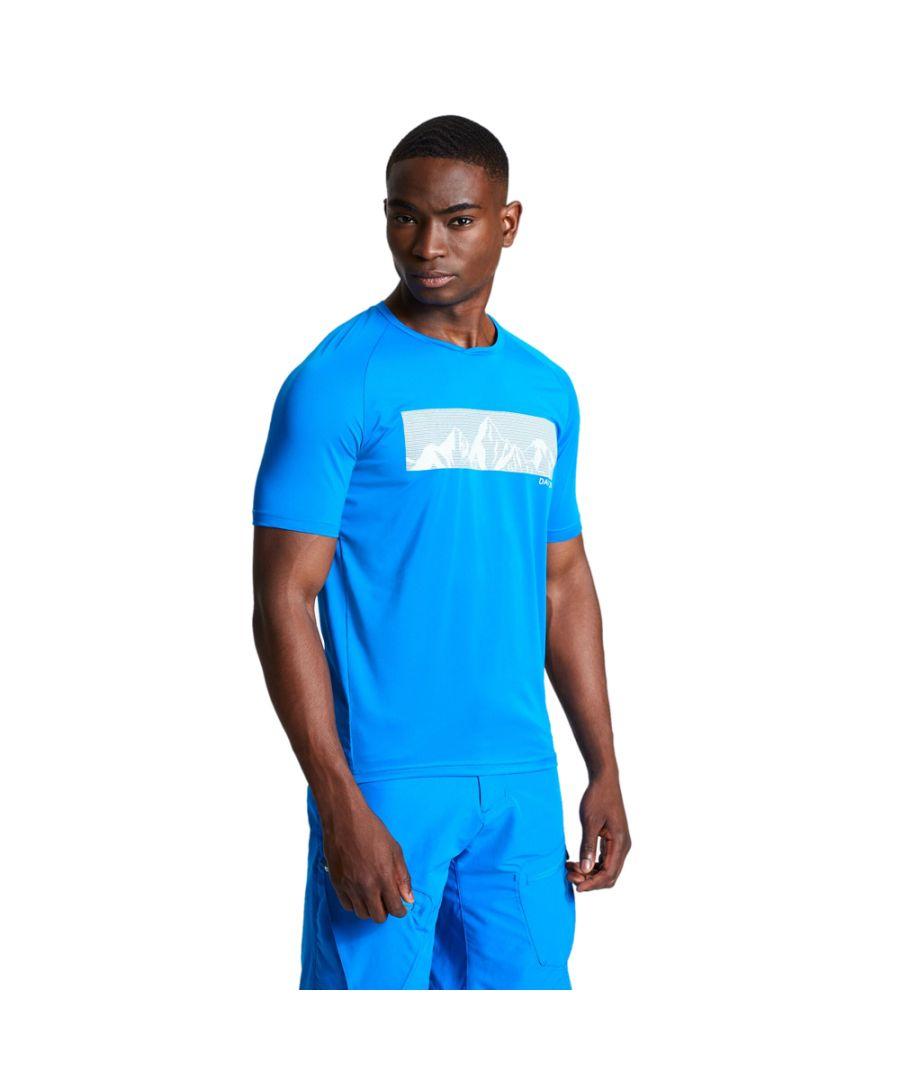 Image for Dare 2b Mens Righteous II Lightweight Running T Shirt