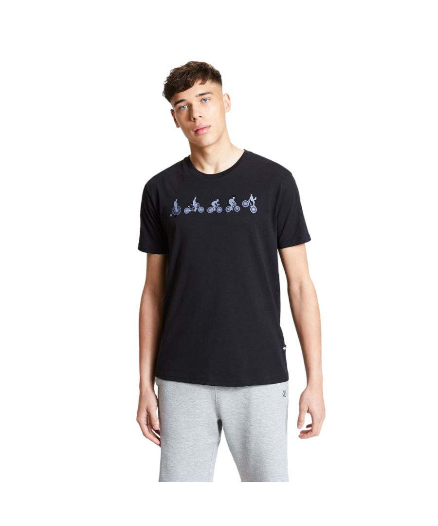Image for Dare 2b Mens Integrate Cotton Casual Graphic T Shirt Tee