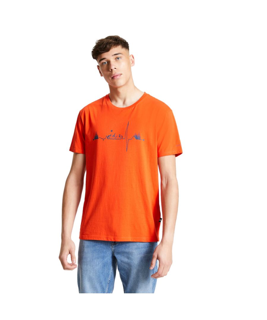 Image for Dare 2b Mens Differentiate Cotton Jersey Graphic T Shirt Tee