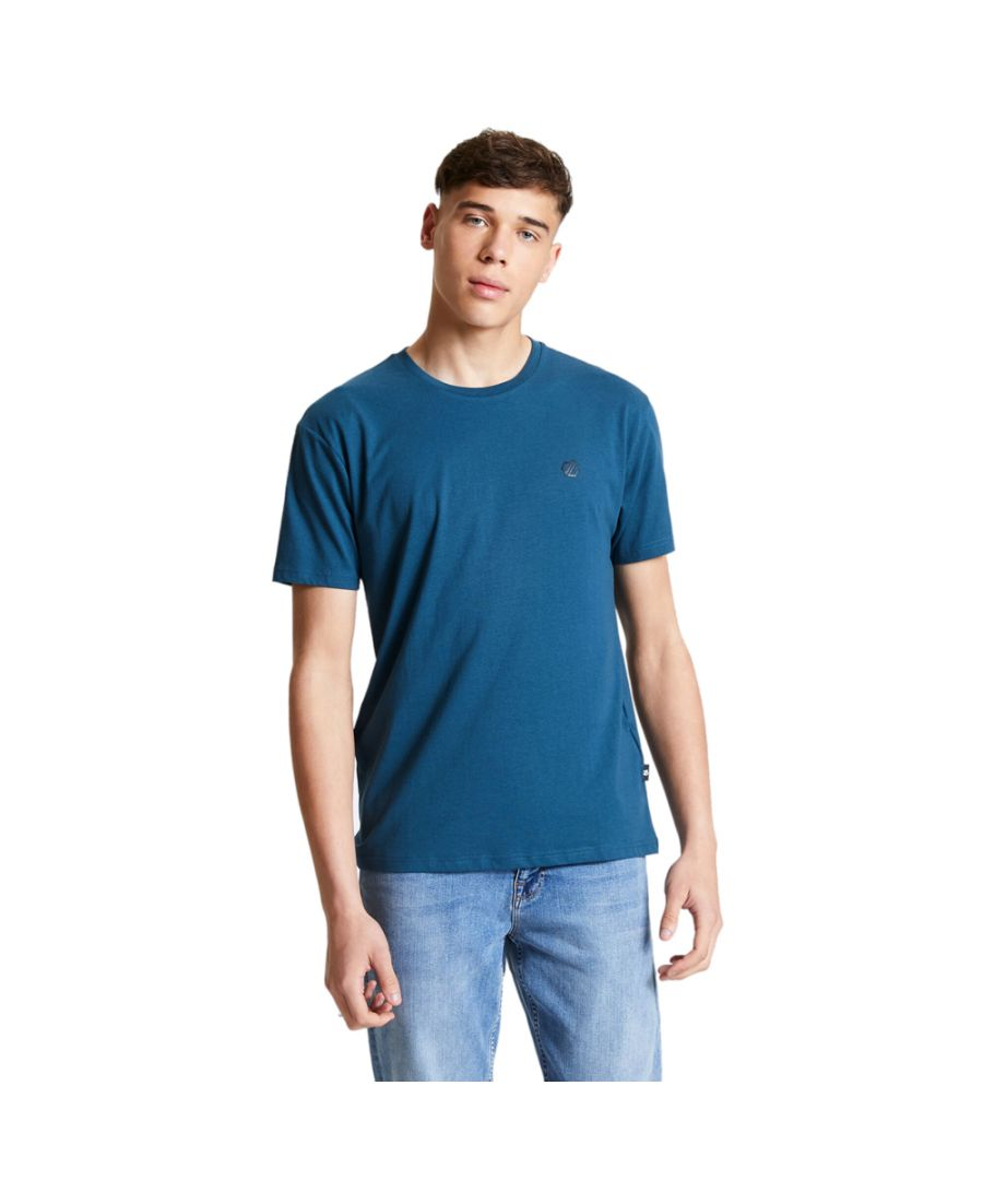 Image for Dare 2b Mens Devout Cotton Jersey Small Logo T Shirt Tee