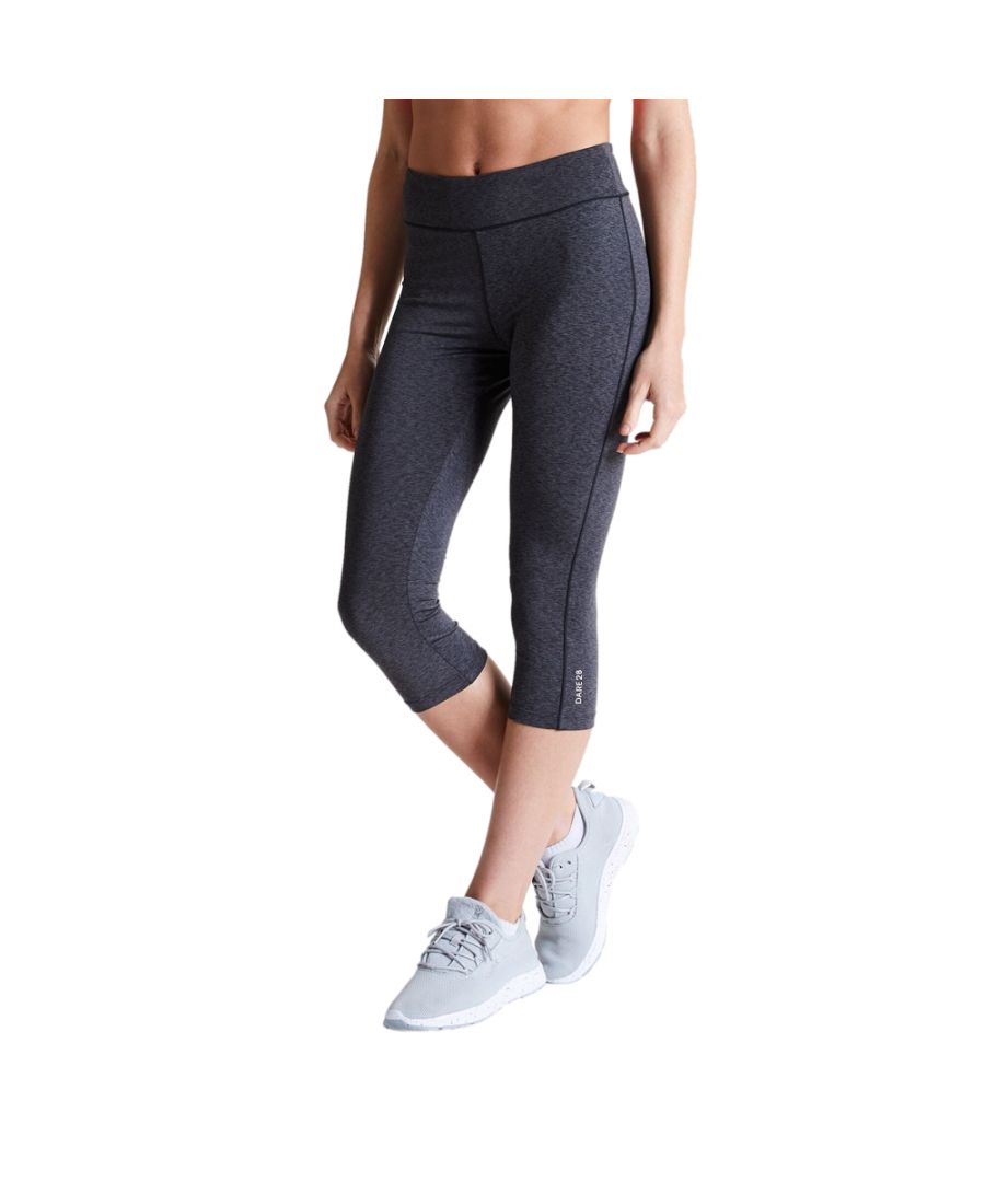 Image for Dare 2b Womens Influential Lightweight 3/4 Gym Leggings