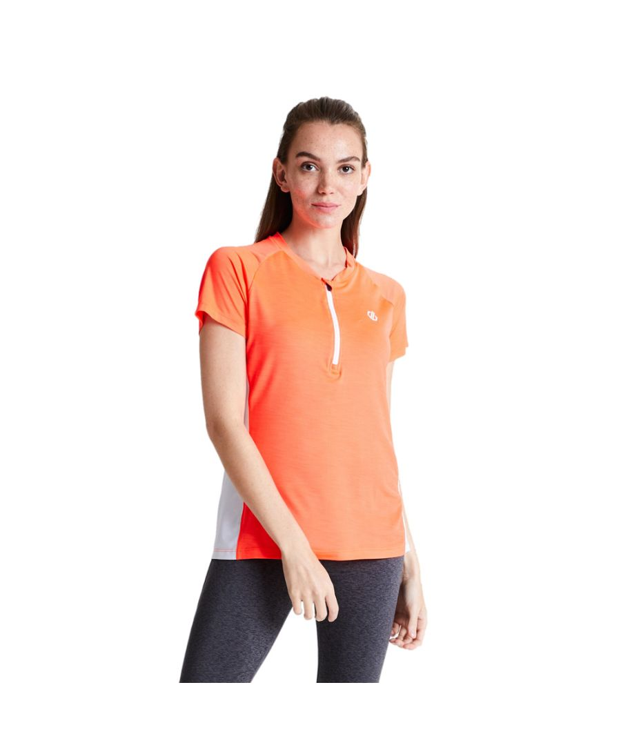 Image for Dare 2b Womens Outdare Light Half Zip Cycling Jersey Top