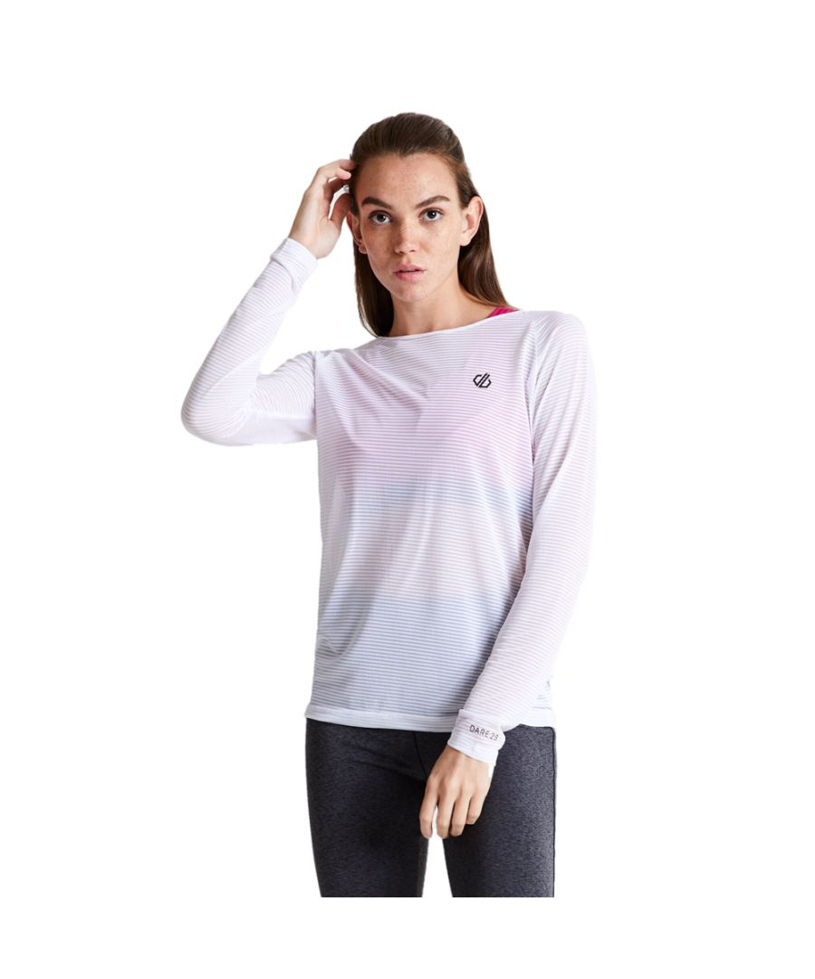 Image for Dare 2b Womens Praxis Lightweight Long Sleeve Gym T Shirt