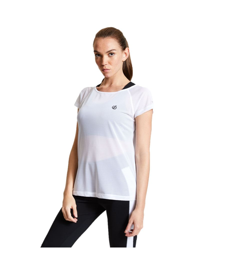 Image for Dare 2b Womens Defy Lightweight Wicking Short Sleeve T Shirt