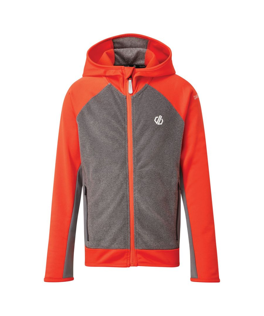 Image for Dare 2b Boys Twofold Core Stretch Full Zip Hooded Jacket