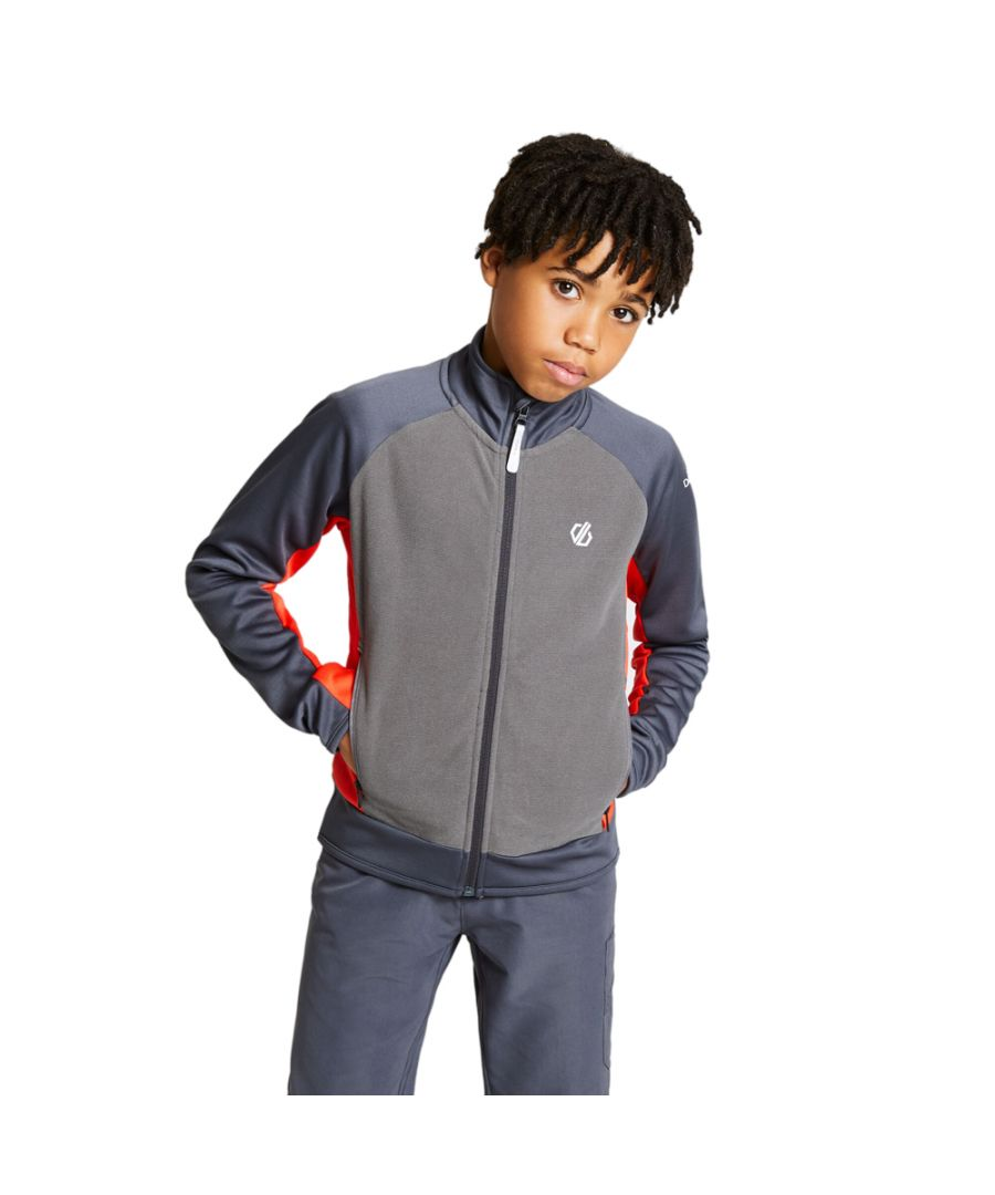 Image for Dare 2b Boys Accolade Core Full Zip Softshell Jacket