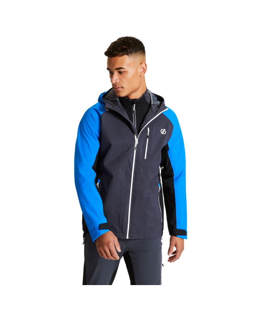 Image for Dare 2b Mens Diluent II Breathable Waterproof Hooded Jacket