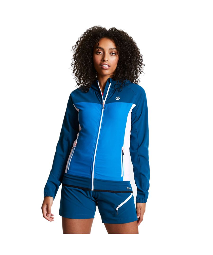 Image for Dare 2b Womens Duplicity Full Zip Hooded Softshell Coat
