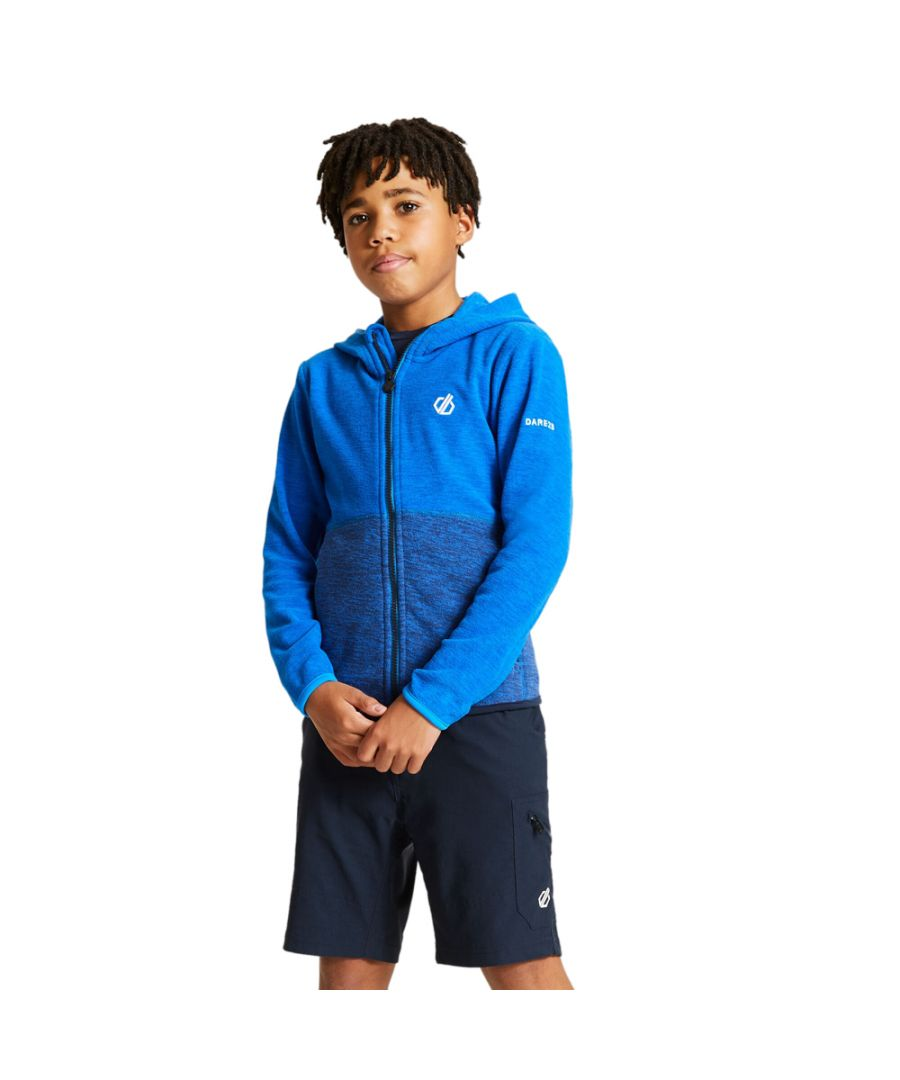 Image for Dare 2b Boys Genesis Polyester Full Zip Hooded Fleece Jacket
