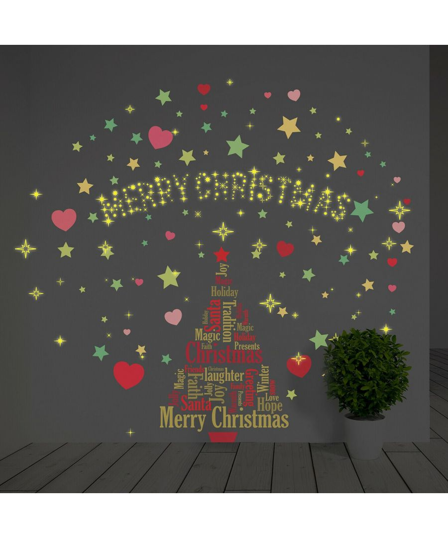 Image for WFXC9314 - COM - WS4026 + WS3042 + WS3036 + WS3040 -  English Quotes Magical Christmas Tree Decoration Set