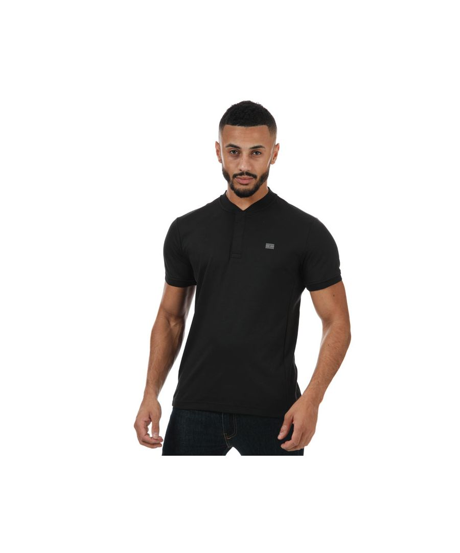 Image for Men's Tommy Hilfiger Modern Baseball T-Shirt in Black