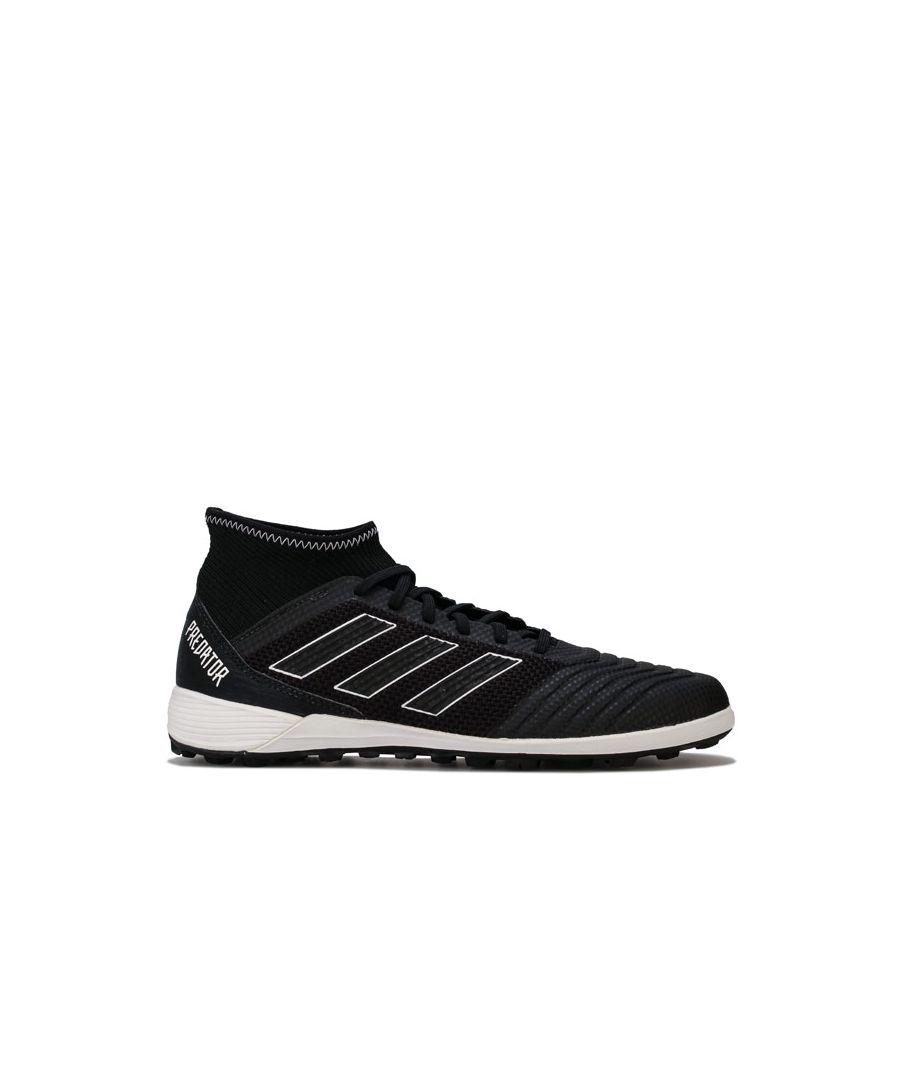 Image for Men's adidas Predator Tango 18.3 TF Football Trainers in Black-White