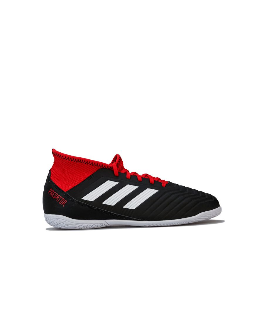 Image for Boy's adidas Junior 18.3 Predator Tango Indoor Trainers in Black