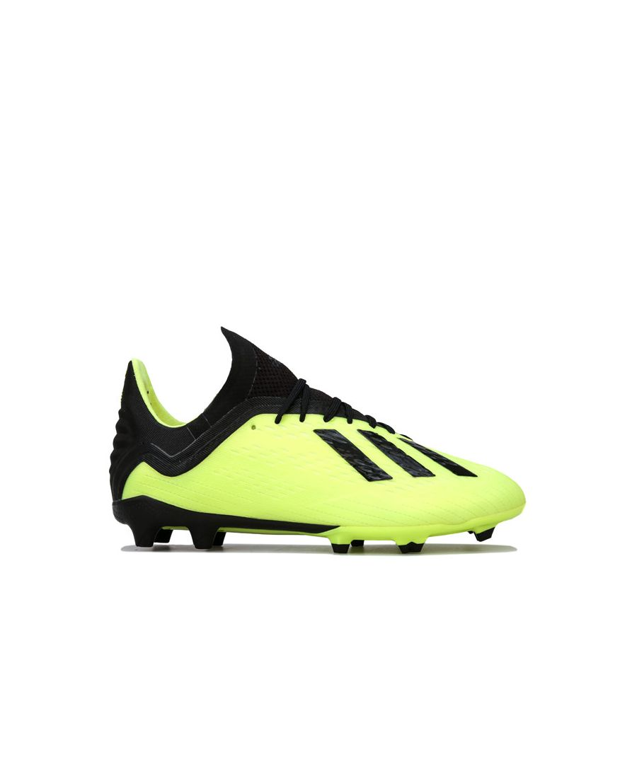 Image for Boy's adidas Junior Predator 18.1 Firm Ground Football Boots in Yellow