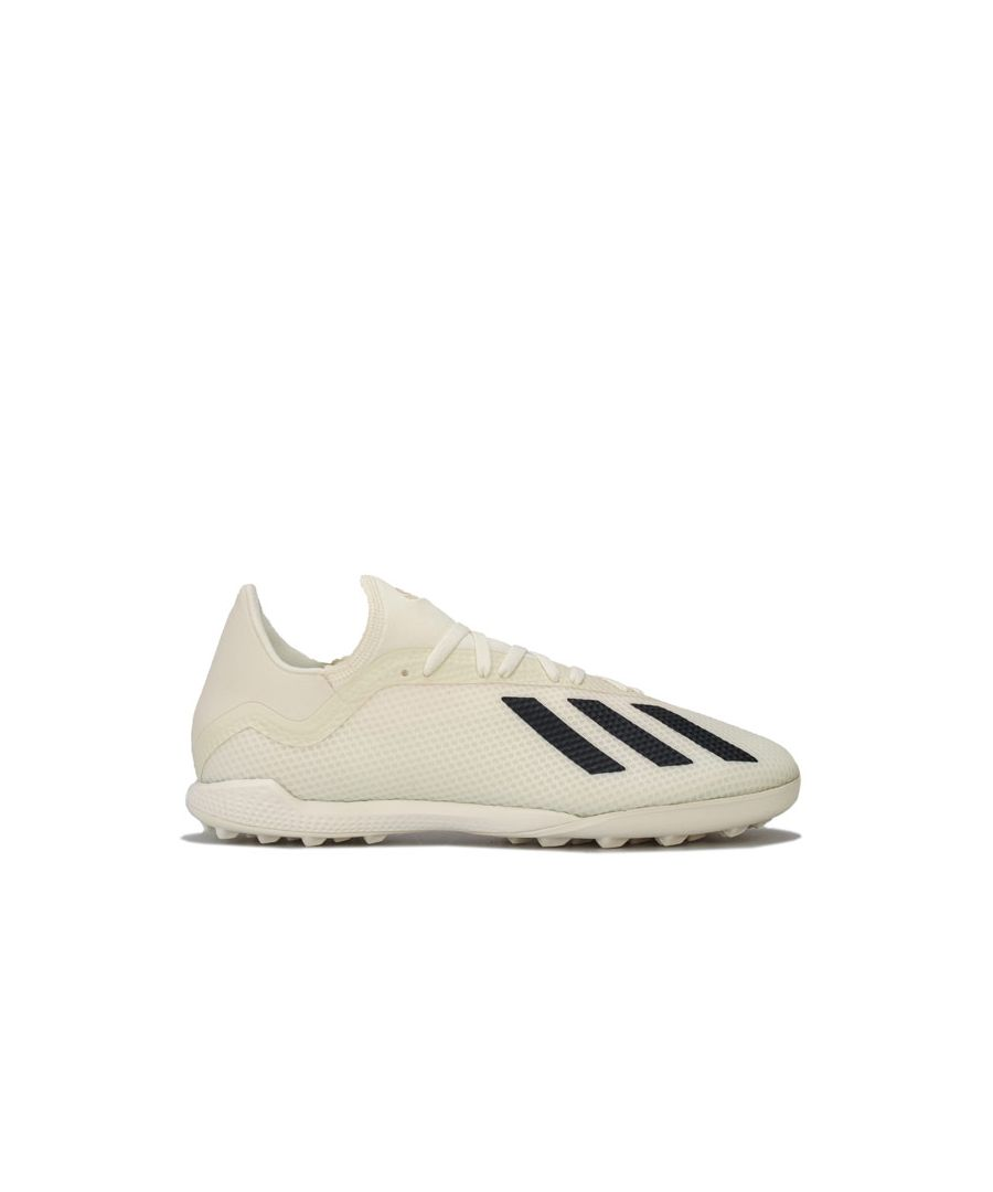 Image for Men's adidas Mers X Tango 18.3 TF Football Trainers in Off White