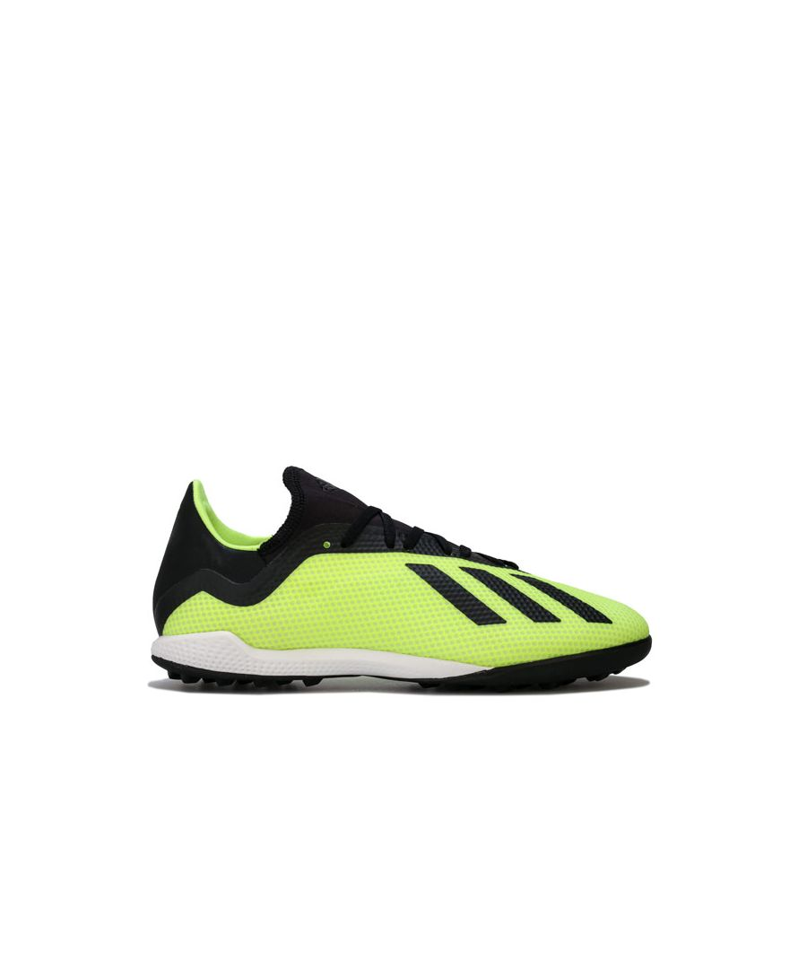 Image for Men's adidas Mers X Tango 18.3 TF Football Trainers in yellow black