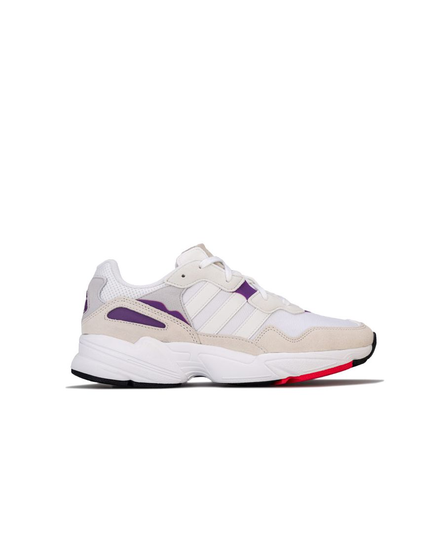 Image for Men's adidas Originals Yung-96 Trainers in White