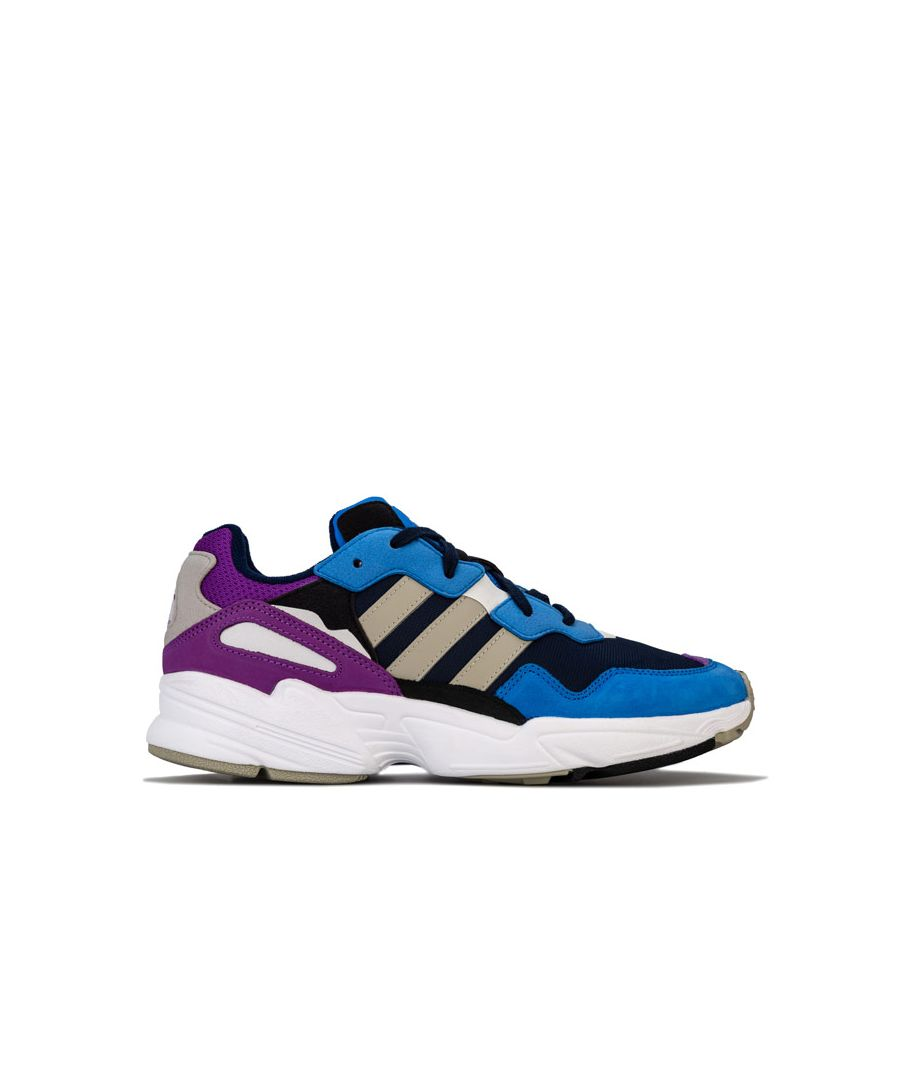 Image for Men's adidas Originals Yung-96 Trainers in Navy
