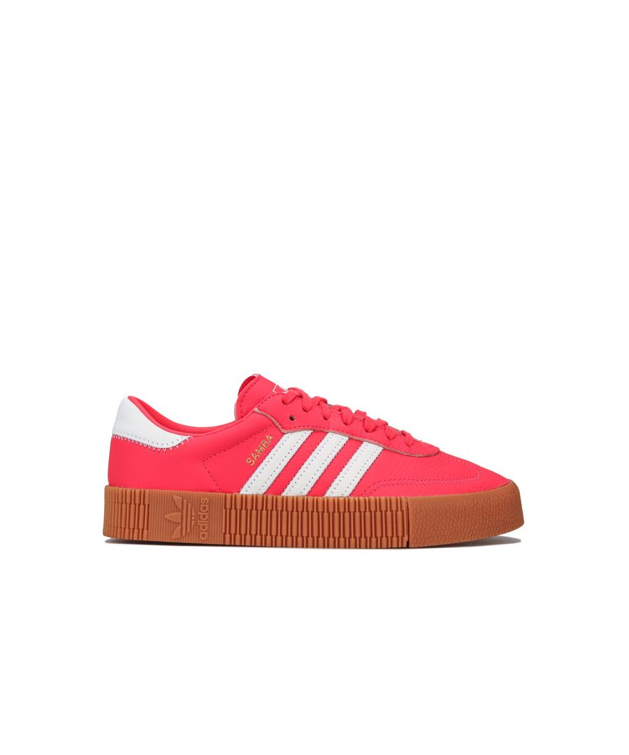 Image for Women's adidas Originals Sambarose Trainers in Red