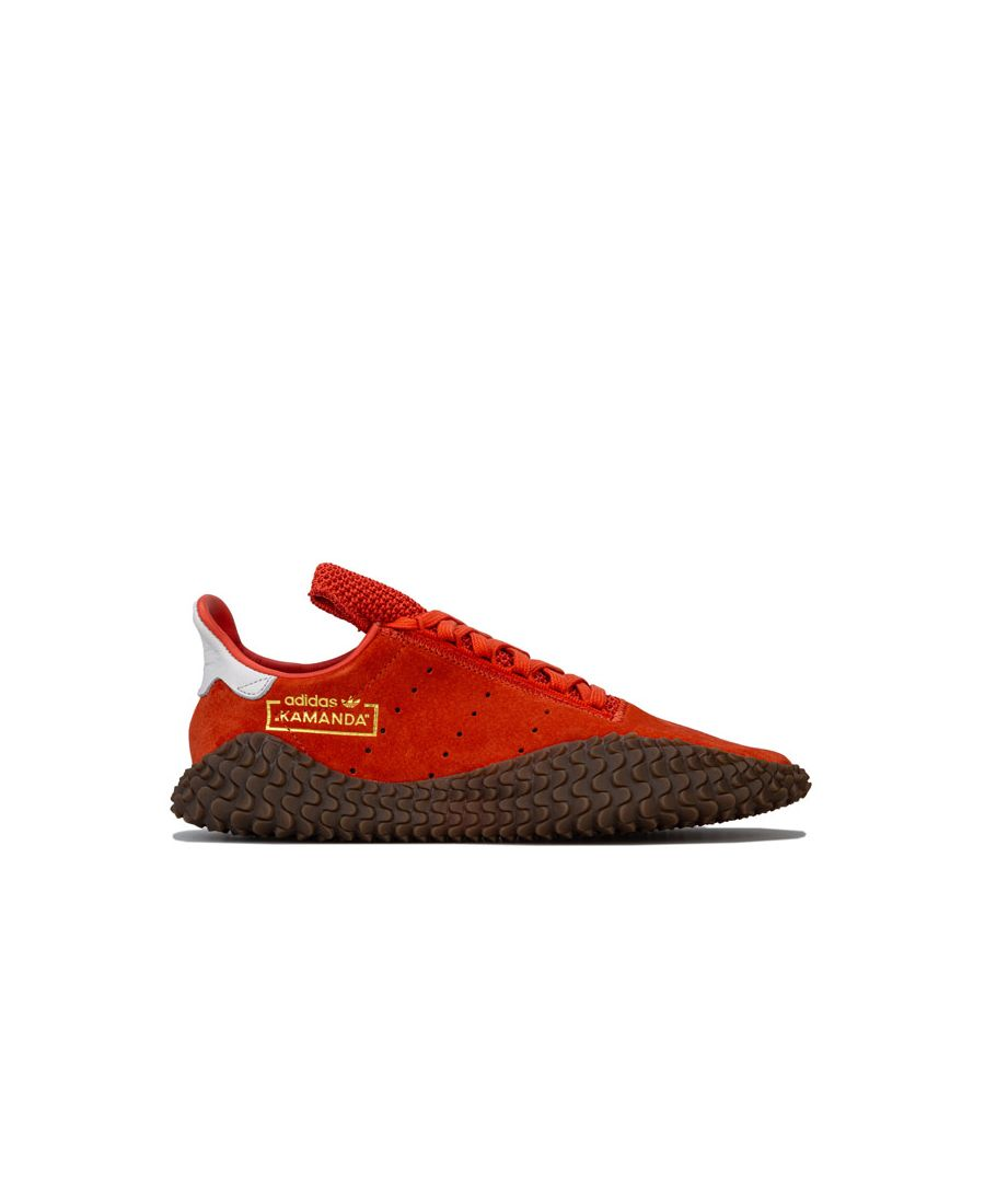 Image for Men's adidas Originals Kamanda 01 Trainers in Orange