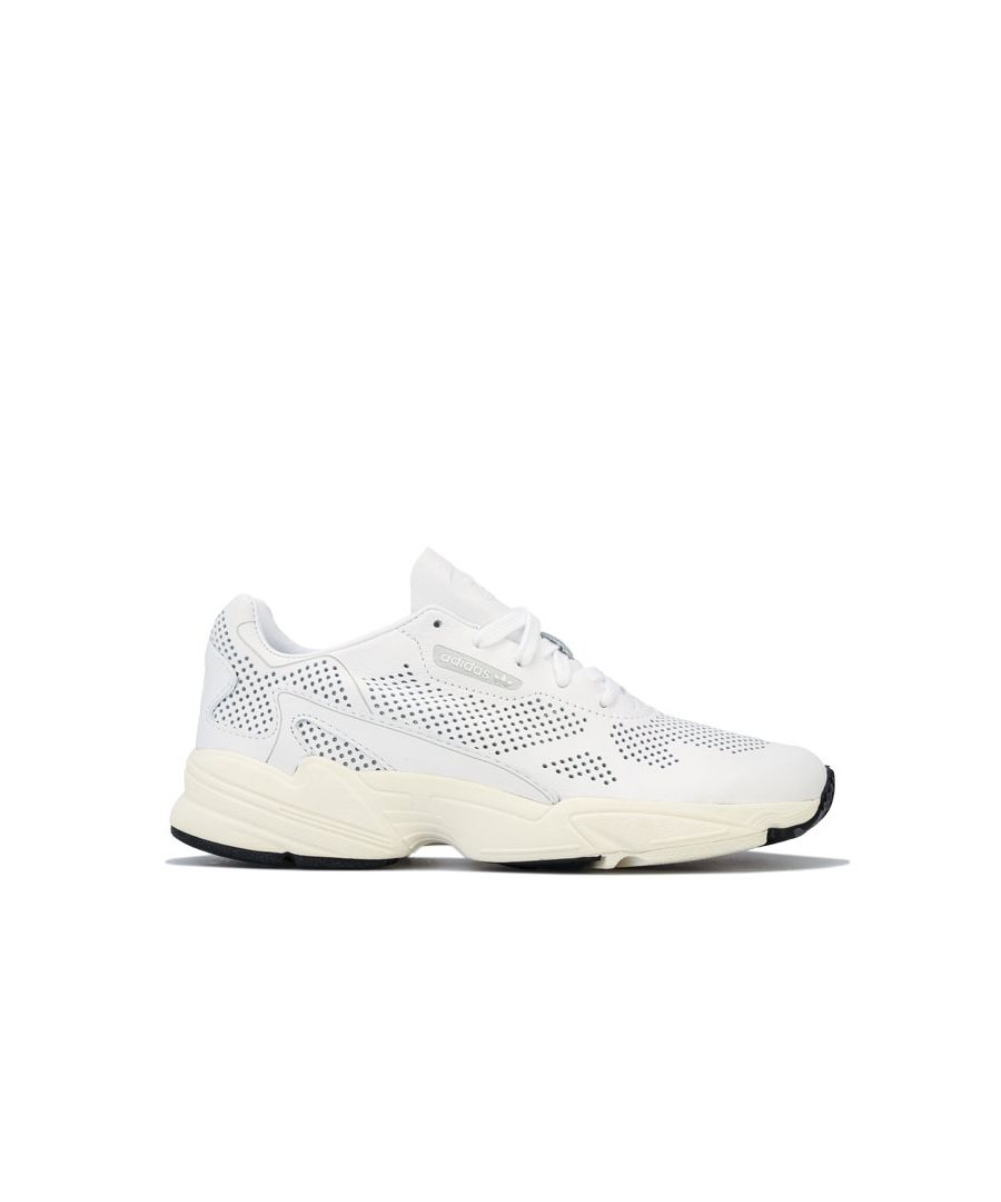 Image for Women's adidas Originals Falcon Alluxe Trainers in White