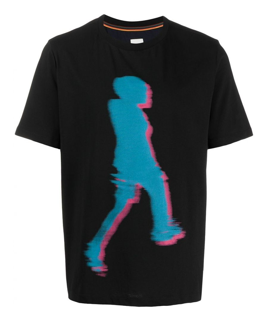 Image for PAUL SMITH MEN'S M1R697PAP187779 BLACK COTTON T-SHIRT