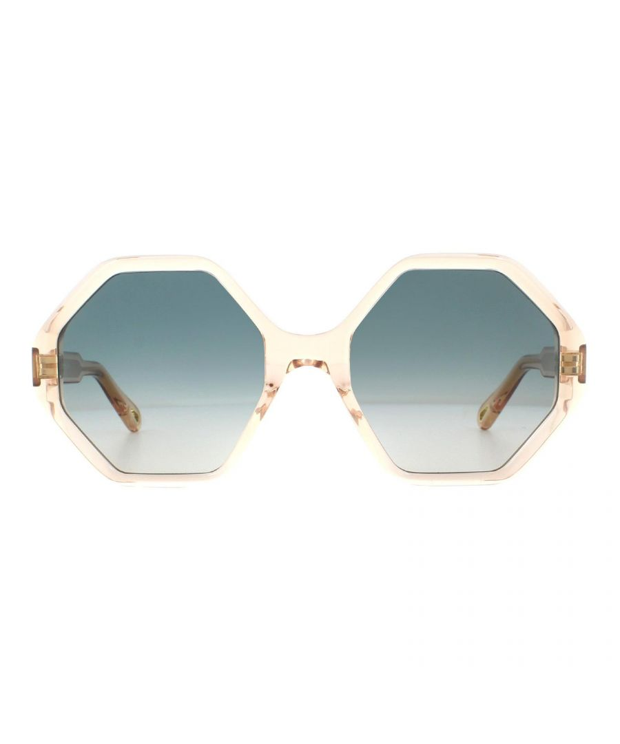 Image for Chloe Sunglasses CE750S 749 Peach Blue Gradient