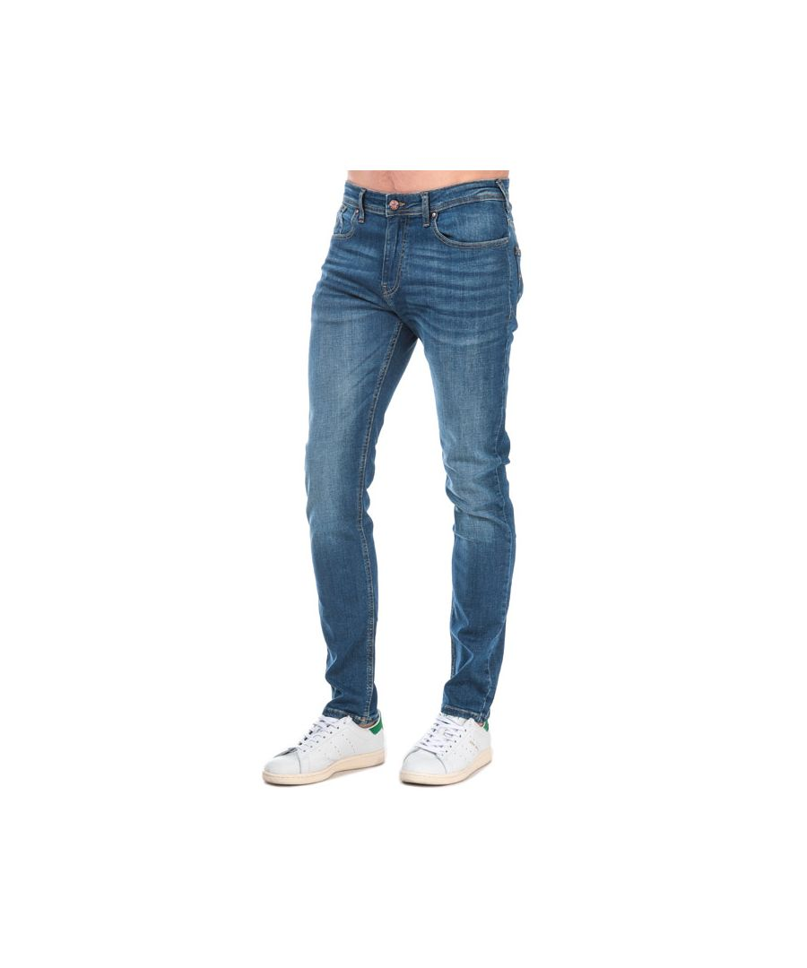 Image for Men's Duck and Cover Overbug Tapered Jeans in Denim