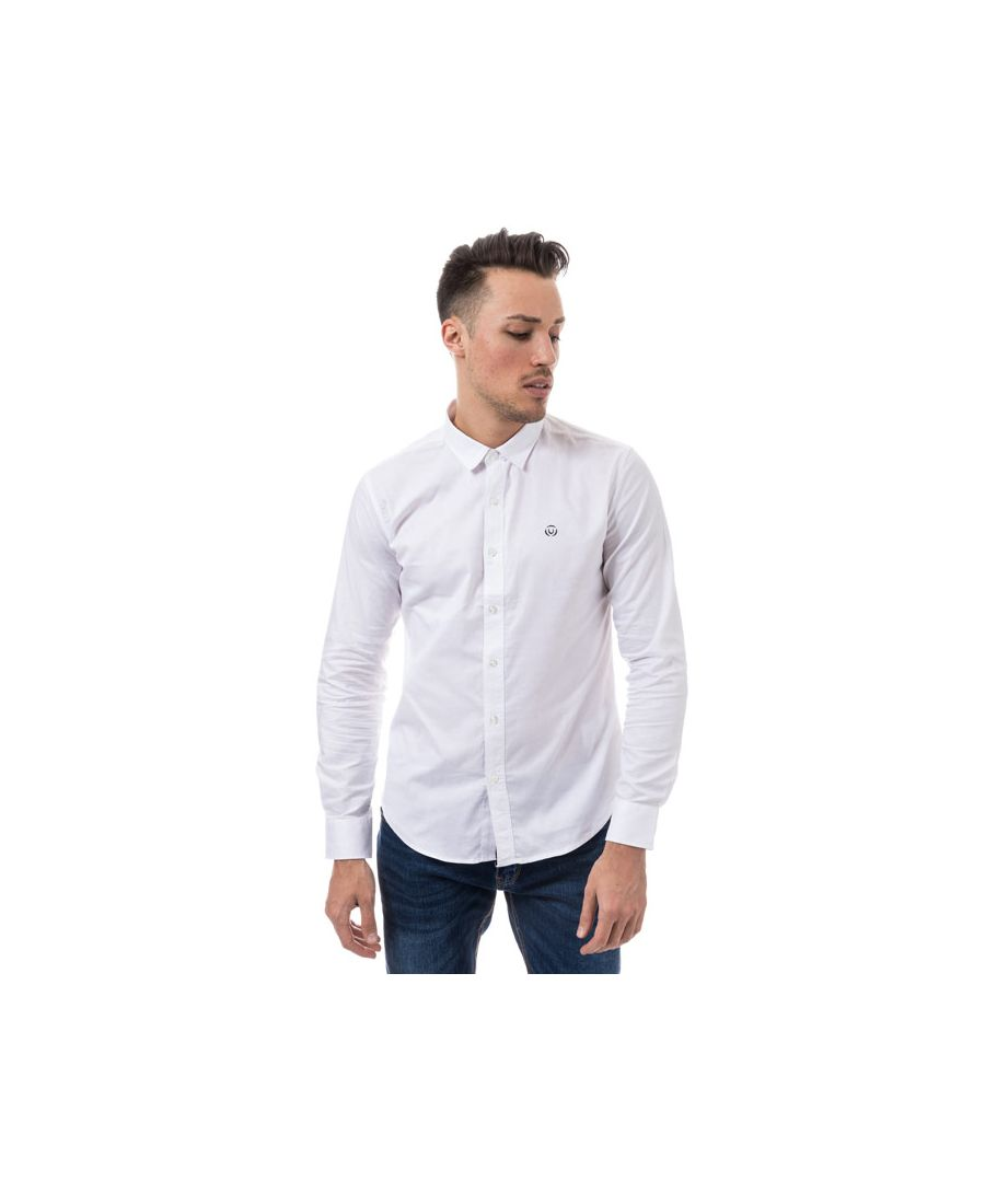 Image for Men's Duck and Cover Birch Cotton Shirt in White